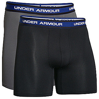 "Under Armour Mesh 6"" Boxerjocks 2-Pack"