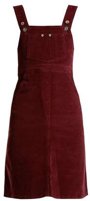 Eve Denim - Marianne Corduroy Dress - Womens - Burgundy