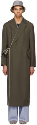 Acne Studios Brown Fangan Fluid Trench Coat