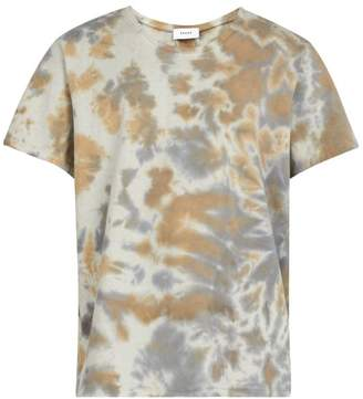 Rhude - Desert Camouflage Tie Dyed Cotton T Shirt - Mens - Grey