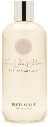 Niven Morgan Green Tea & Peony Body Wash, 11 oz.