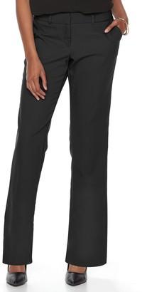 Apt. 9 Petite Torie Curvy Straight-Leg Dress Pants