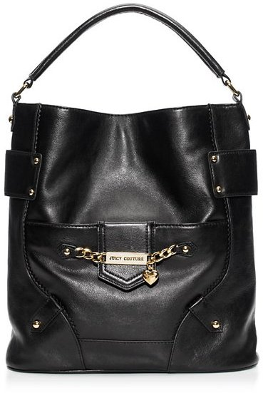 Juicy Couture Wilshire Leather Hobo Bag