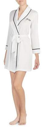 Kate Spade Mrs. Satin Bridal Robe