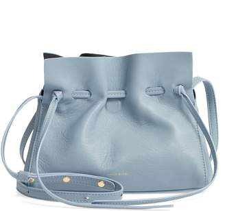 578015f94b08 Mansur Gavriel Mini Lambskin Leather Drawstring Bag