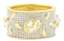 Freida Rothman Fleur Bloom Wide Band Ring