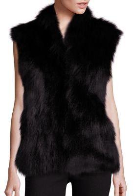 Adrienne LandauAdrienne Landau Fox Fur Vest