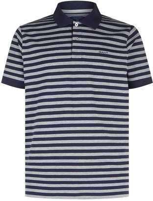 Gant Feeder Stripe Printed Polo Top