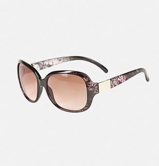 Avenue Floral Frame Sunglasses