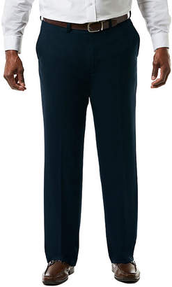 Haggar JM Premium Stretch Sharkski Classic Fit Flat Front Suit Pants - Big & Tall