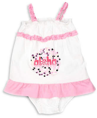 GUESS Smocked Dress and Bloomers Set