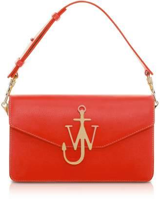 J.W.Anderson Scarlet Red Logo Purse