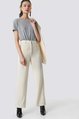 Na Kd Classic Wide Leg Suit Pants Off White