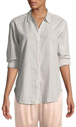 Xirena Beau Striped Lounge Shirt