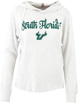 Pressbox Women South Florida Bulls Cuddle Knit Hooded Sweatshirt