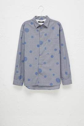 French Connenction Gingham Bubble Long Sleeve Shirt