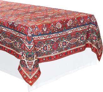 CABANA Cabana Persia Linen Square Tablecloth