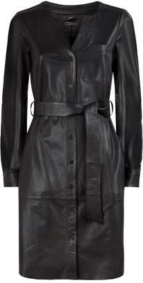 SET Leather Dress