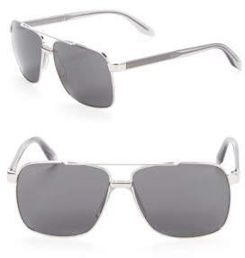 Versace 64MM Double-Bridge Sunglasses
