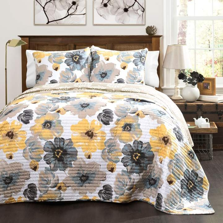Leah 3-piece Quilt Set