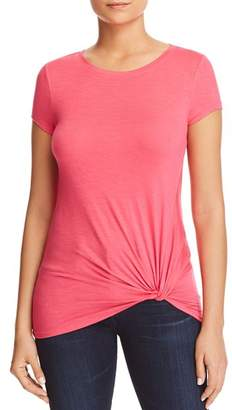 Andrew Marc Twisted Faux-Knot Tee