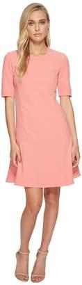 Ellen Tracy Seamed Flounce Dress Women's Dress