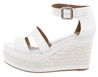 Hermes Ilana Espadrille Wedge Sandals