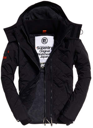 Superdry Quilted Hooded Polar SD-Windcheater Jacket
