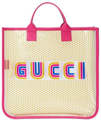 Gucci Kids Amour tote bag