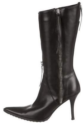 Cesare Paciotti Knee-High Leather Boots
