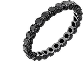 Black Diamond Sethi Couture Bezel Band Ring