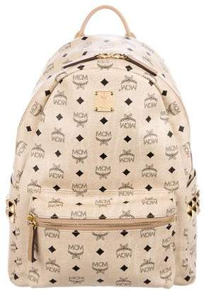MCM Visetos Stark Medium Backpack