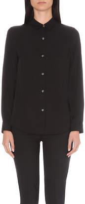 Theory Tenia classic silk shirt