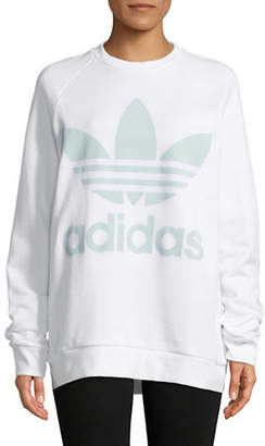 adidas Oversized Cotton Sweater