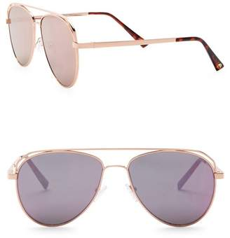 Vince Camuto Satellite 55mm Aviator Sunglasses