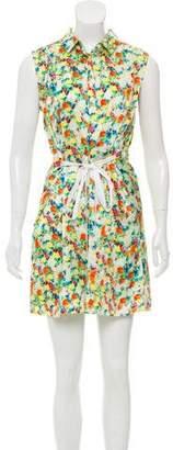 Rebecca Minkoff Floral Print Silk Dress