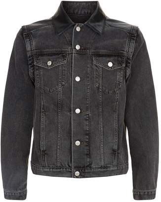 Givenchy Eyelet Detail Denim Jacket