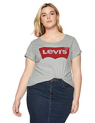 Levi's Women's Plus-Size Perfect Graphic Tee Shirt