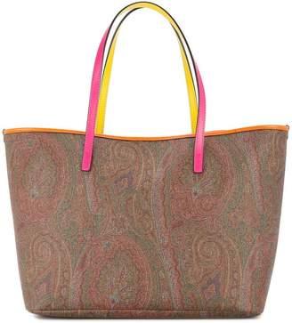 Etro paisley shopper bag
