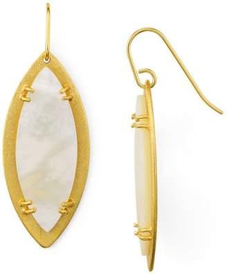 Stephanie Kantis Leaf Earrings