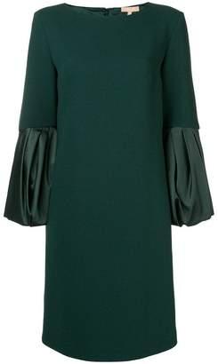 Michael Kors contrast sleeve dress