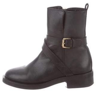 Whistles Clark Leather Ankle Boots