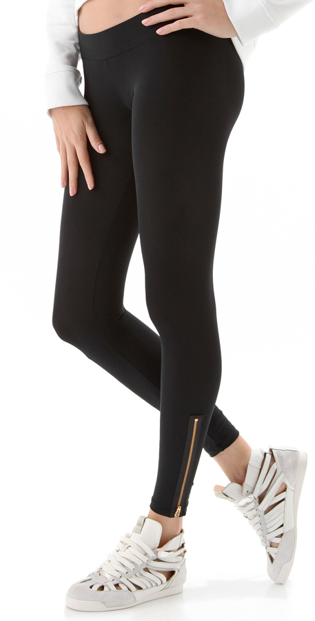 LnA Zipper Leggings