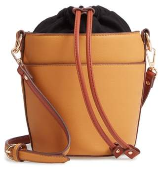 Chelsea28 Izzy Faux Leather Bucket Bag