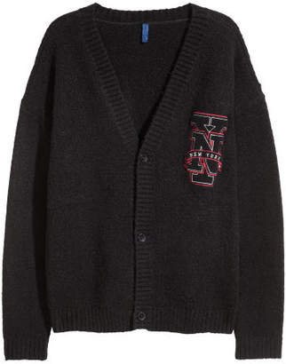 H&M Knitted cardigan - Black