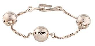 Chanel Logo Ball Station CC Bracelet