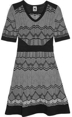 M Missoni Ribbed Crochet-Knit Cotton-Blend Dress