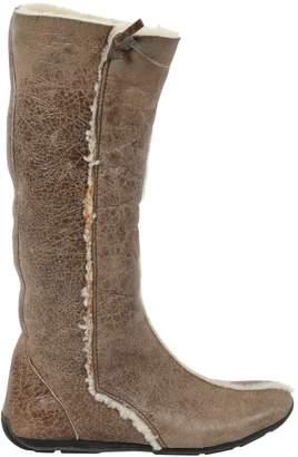 Prada Brown Cloth Boots