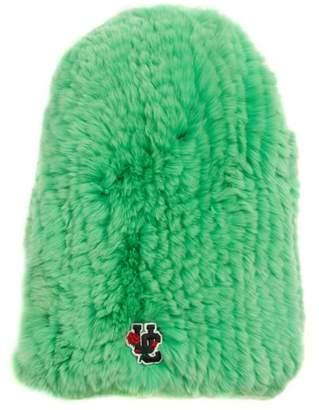 Undercover Genuine Rabbit Fur Beanie