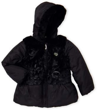 Juicy Couture Toddler Girls) Faux Fur Paneled Jacket